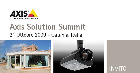 axis solution summit catania 21/102009