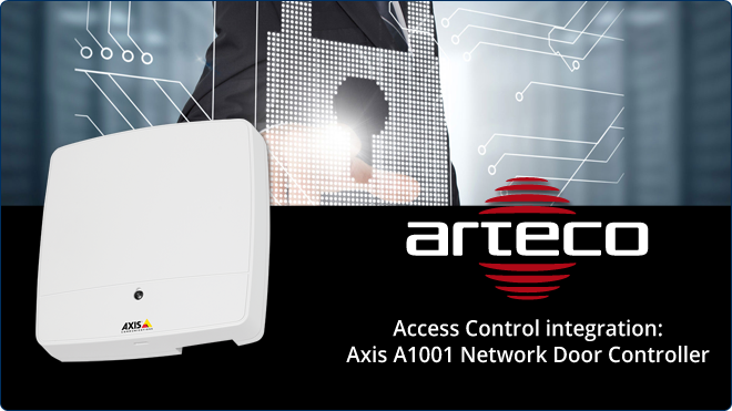 Arteco And Axis The Smart Solution For Access Control Arteco